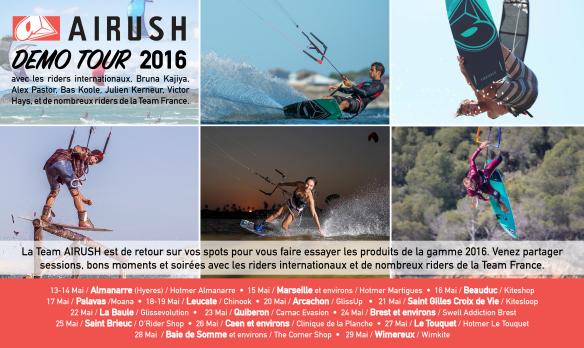 AIRUSH TOUR 2015